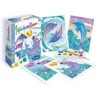 Aquarellum Mini Kit Dolphins