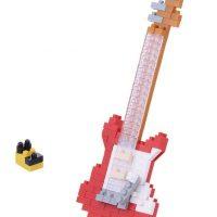 Nanoblock: Electric Guitar – Red Electric Guitar