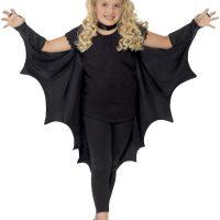 Kids Vampire Bat Wings, Black