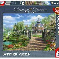 Schmidt Jigsaw Puzzle Dominic Davison: Idyllic Country Estate 1000 pieces