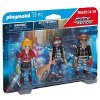 Playmobil City Action Police Thief Figure Set