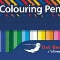 12 Full Length Colouring Pencils Hang Pack